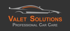 Valet Solutions Logo with Grey Background