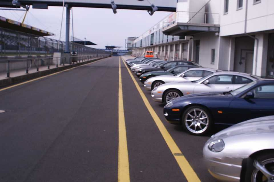 Colin's work at a Jaguar event